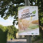 Sport im Bagno-Park Gestaltungskonzept